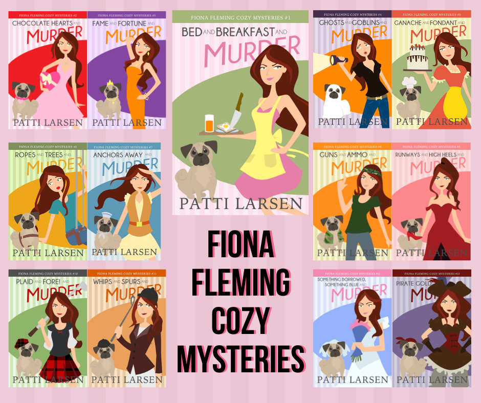 Fiona Fleming Cozy Mysteries