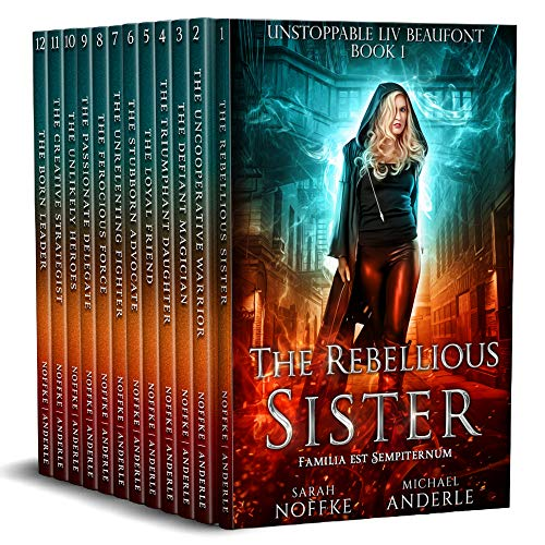 Unstoppable Liv Beaufont Complete Series Boxed Set (Books 1 – 12)