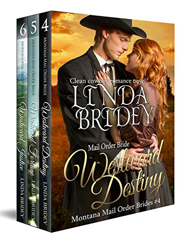 Free: Montana Mail Order Bride Box Set (Westward Series) (Books 4 – 6)