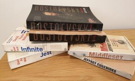books ripped in half