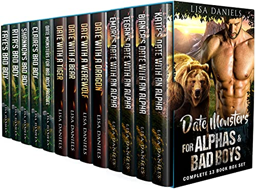 Date Monsters for Alphas & Bad Boys: Complete 13 Book Box Set