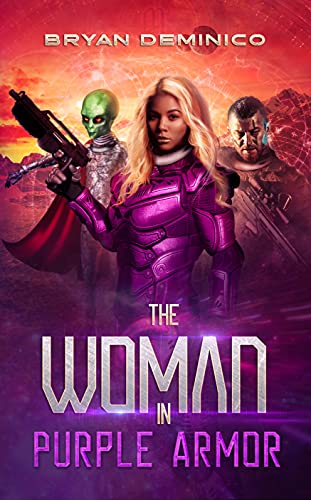 The Woman in Purple Armor